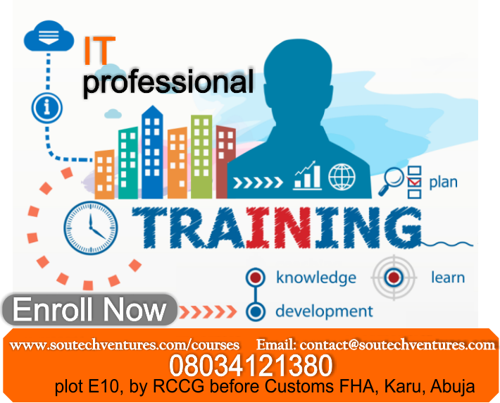 soutech website design training courses