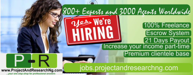 Professional Freelance Portal in Nigeria: Business and Academic Solutions