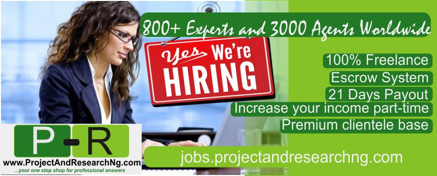 Job advert for facbook and jobberman
