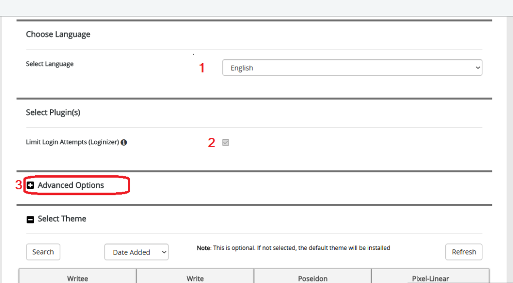 Soutech Web Consult - Installing WordPress - Cpanel