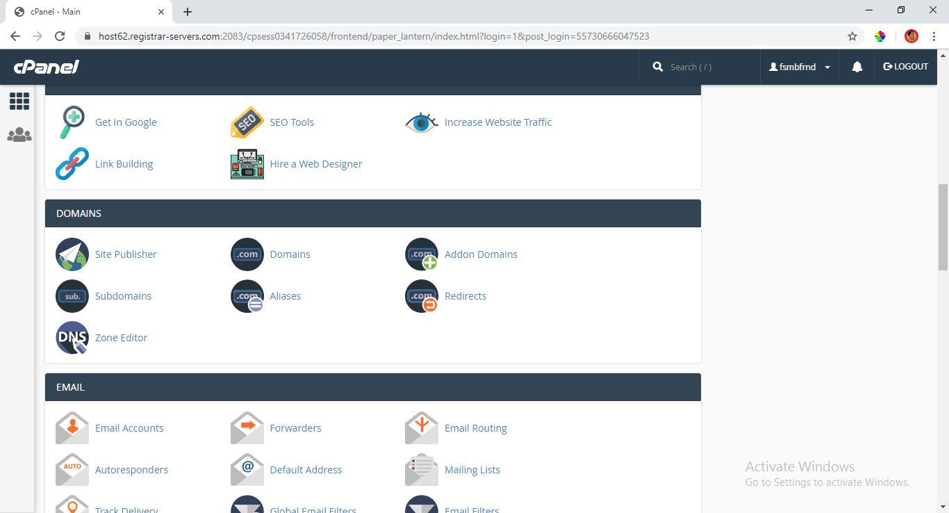 website hosting tutorial- web design training abuja owerri nigeria