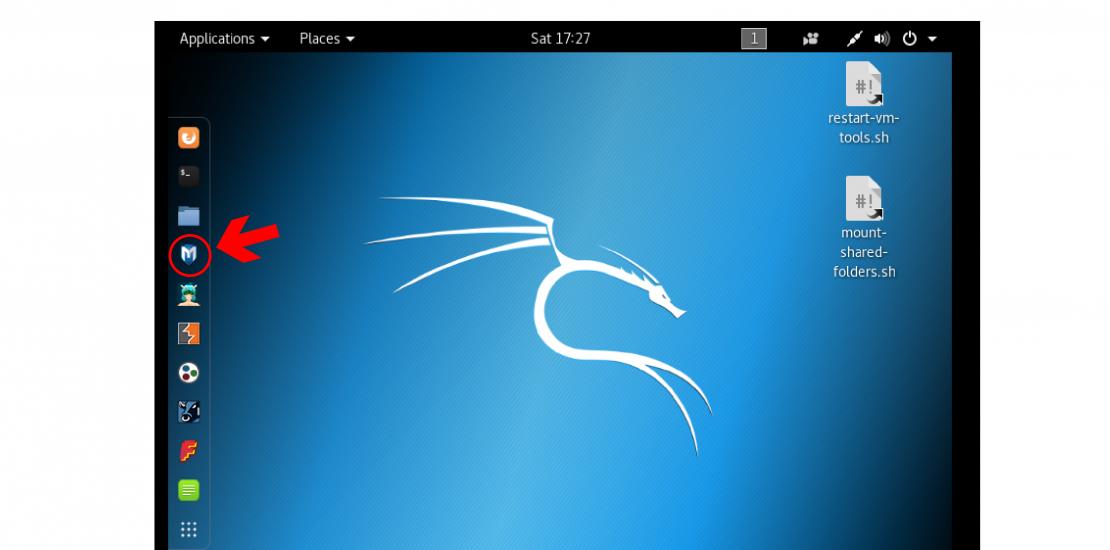 Kali Linux Desktop