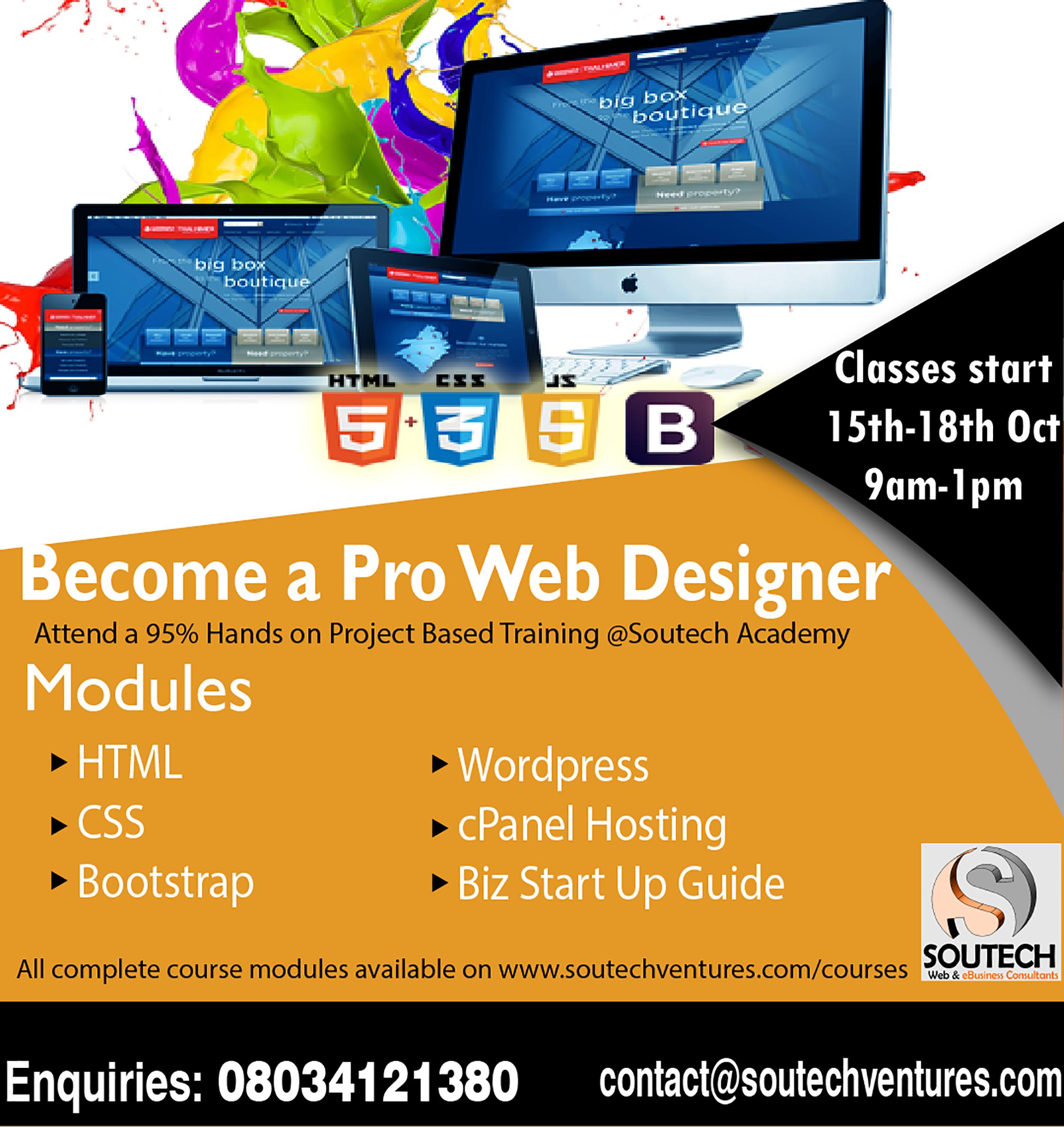 professional IT training in abuja owerri nigeria